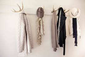 modern wall mounted coat rack