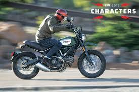 ducati scrambler urban enduro 2016 cw characters cycle world