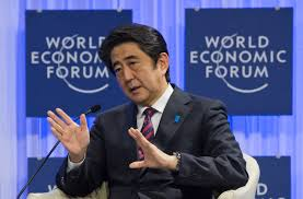 Image result for images of Abe Shinzo on Jan. 22, 2019