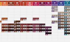 Chi Tone And Shine Color Chart 32 Valid Chi Ppd Free Hair Color