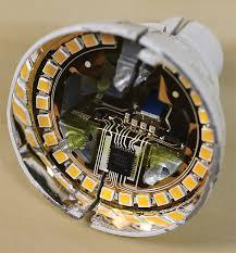 what s inside and led bulb teardown explanation 3m led bulb flex circuit close up