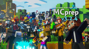 Minecraft cube ground name font. Mcprep Blender Minecraft Addon Moo Ack Productions