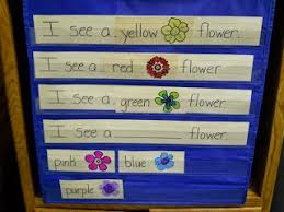 Pocket Chart Poems For Kindergarten Spring Circle Time Play To Learn