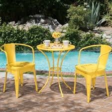 yellow patio furniture. Yellow Patio Dining Sets Furniture