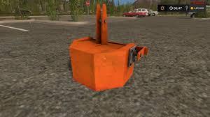 Eigenbau Gewicht 870kg V1 Farming Simulator Modification
