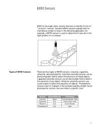 Basics Of Sensors Siemens Cources