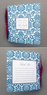 Booklet Program Template Wedding Program Template 4 Page Rococo Square Booklet