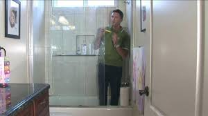 clean shower doors how to clean shower glass doors glass shower door cleaning hard water
