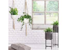 macrame plant hanger 4packs hanging