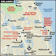 location Map Of Orlando Area map of the orlando area map of orlando area zip codes