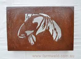 fantail goldfish metal art