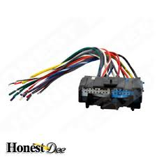 aftermarket car stereo radio to saturn wiring wire harness adapter image is loading aftermarket car stereo radio to saturn wiring wire