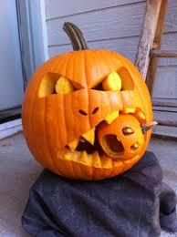 Small Pumpkin Designs Big Pumpkin Eating Little Pumpkins Just A Great Idea