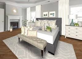 area rugs need to be large enough to go under the bed and still have plenty of room on each side a king size bed needs a minimum of an 8 10 area rug