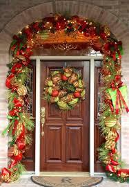 christmas front door decorationsFront Doors  Christmas Front Door Decorations Uk Christmas Front