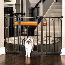 diy extra wide baby gate gates for large openings pet design paw walk thru with room diy extra wide baby gate