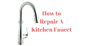 Leaky Kitchen Faucet How To Repair A Leaky Kitchen Faucet Monasteriesofspain Com