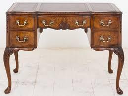 walnut queen anne style writing desk antique writing desks