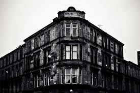 old architectural photography. Photography Photo Picture Image Glasgow Scotland Architecture Building Brick Stone Windows Old Urban City Bw Black Architectural E