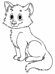 Small Picture Fox Pages For Free Kids Coloring Pages Animals Printable Fox