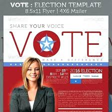 Campaign Mailer Template Also Election Brochure Template Political ...