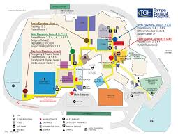 Florida Hospital Organizational Chart Campus Map Tampa General Hospital