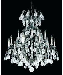 chandeliers schonbek crystal chandelier this signature classic by is an medium size of rock inch