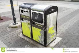 How Does A Trash Compactor Work Solar Powered Trash Compactor Editorial Image Image 25980965