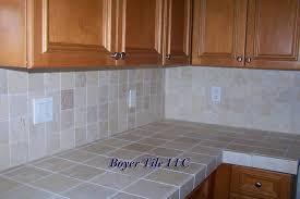 outdoor kitchen tile countertop pictures