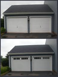 uncommon new garage doors before after garage doors new v thermacore collection with