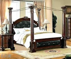 black wood canopy bed – graceinthecolony.org