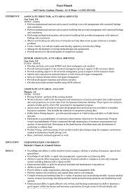 Actuary Resume Associate Actuarial Resume Samples Velvet Jobs 19