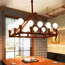 Industrial modern lighting Living Room Savelights Design 12light Industrial Modern Lighting Bar Counter