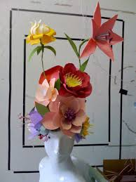 Paper Flower Hats Fiore Fresco Flower Sculpture