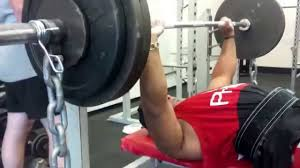 Bench Press And Chains Set Up  YouTubeChains Bench Press