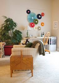 eclectic design home office. Flower Arrangements Designs Home Office Eclectic With Hand Made White Desk Design I