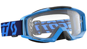 Best Discount Designer Scott Tyrant Clear Works Blue Offroad Goggles Premier