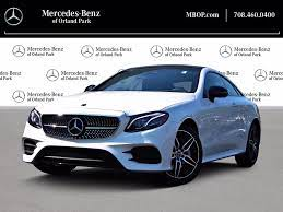 Truecar has over 1,136,621 listings nationwide, updated daily. Certified Pre Owned 2020 Mercedes Benz E Class E 450 4matic Coupe In Orland Park Ma12539l Mercedes Benz Of Orland Park