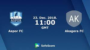 Aspor FC - Akagera FC canlı skor, H2H ve kadrolar |