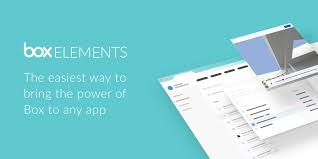 Apps Using Introducing Box Elements The Easiest Way To Build Apps With Box