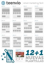 formatos de boletines informativos nuevos diseños de plantillas para comunicados boletines y newsletters