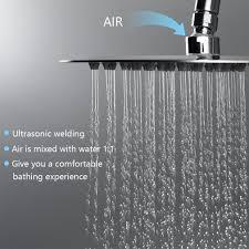 Ubeegol Regendusche Duschsystem Mit Thermostat Duscharmatur