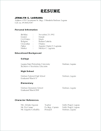 Resume References Format Stunning Character Reference Format Resume 60 Free Download References For A