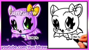 Small Picture How to Draw Halloween Stuff CUTE Bat Draw Easy Things Best