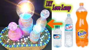 Diy Love Lamps From Glass Sphere And Plastic Bottle Easy To Make