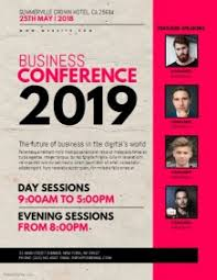 Conference Flyer Template Cnbam