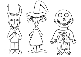 Nightmare Before Christmas Coloring Pages Jack Skellington Coloring
