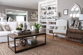 gray and taupe colors living room