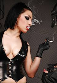 29 best Smoking Ladies with Hot Lips Dressed in Leather or Latex.