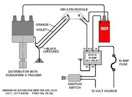 wiring a coil and distributor wiring image wiring ford gm hei coil question the h a m b on wiring a coil and distributor